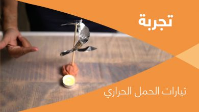 Photo of تجربة: تيارات الحمل الحراري